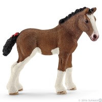 Schleich Clydesdale Foal 2016 Toy