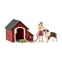 Schleich Dog Kennel Toy