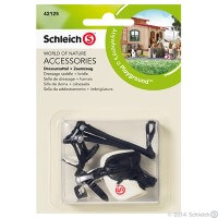Schleich Dressage Saddle and Bridle Toy