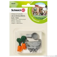 Schleich Feeding Rack and Trough Toy