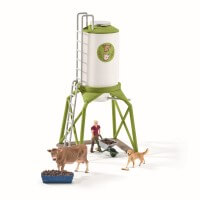 Schleich Feeding Silo Toy
