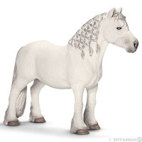 Schleich Fell Pony Stallion Toy