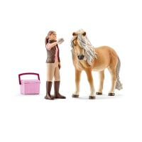 Schleich Groom with Icelandic Mare Toy