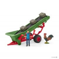 Schleich Hay Conveyor Toy