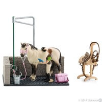 Schleich Horse Wash Area Toy