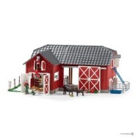 Schleich Large Farm with Angus Toy