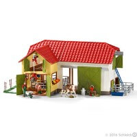 Schleich Large Farm with Animals Toy