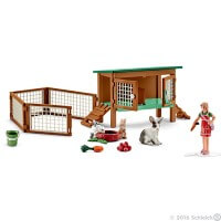 Schleich Rabbit Hutch 2016 Toy