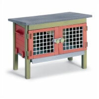 Schleich Rabbit Hutch Toy