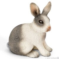 Schleich Rabbit Sitting Toy