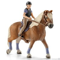 Schleich Recreational Rider Toy