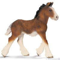 Schleich Shire Foal Toy