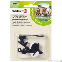 Schleich Show Jumping Saddle and Bridle Toy