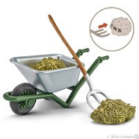 Schleich Stable Cleaning Kit at Farm Toy