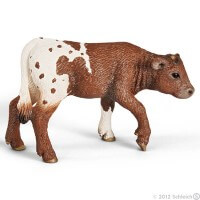 Schleich Texas Longhorn Calf Toy