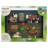 Schleich Animal Feed Playset Toy