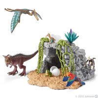 Schleich Dinosaur Set with Cave Toy