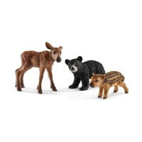 Schleich Forest Animal Babies Toy