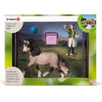 Schleich Horse Care Set Andalusian Toy