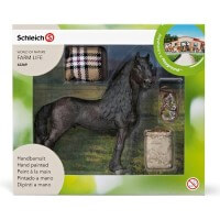 Schleich Horse Care Set Frisian Toy