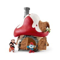 Schleich Smurf House Toy