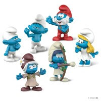 Schleich Smurf Movie Set 3 Toy