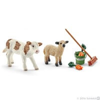 Schleich Stable Cleaning Kit Toy