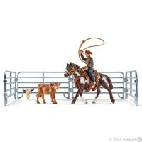 Schleich Team Roping with Cowboy Toy