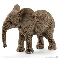 Schleich African Elephant Calf 2016 Toy