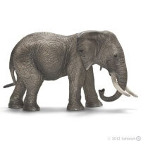 Schleich African Elephant Female 2012 Toy