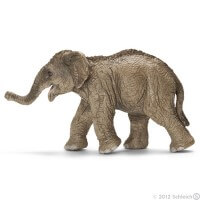 Schleich Asian Elephant Calf 2012 Toy