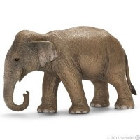 Schleich Asian Elephant Female 2012 Toy
