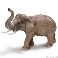 Schleich Asian Elephant Male 2012 Toy