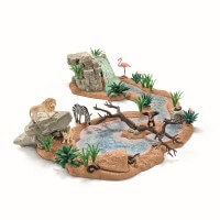 Schleich Big Adventure at the Waterhole Toy