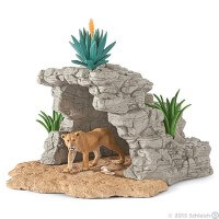 Schleich Cave Playset Toy