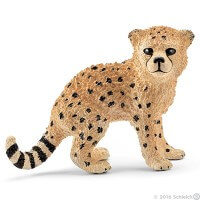 Schleich Cheetah Cub 2016 Toy