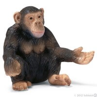 Schleich Chimpanzee female Toy