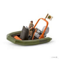 Schleich Dinghy with Ranger Toy