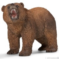 Schleich Grizzly Bear 2013 Toy