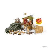 Schleich Jungle Research Station Toy