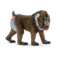 Schleich Mandrill Male Toy