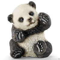 Schleich Panda cub playing Toy