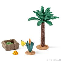 Schleich Plants and Feed Set Toy