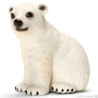 Schleich Polar Bear Cub 2012 Toy
