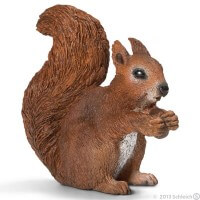 Schleich Squirrel Eating 2013 Toy
