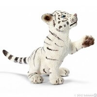 Schleich Tiger Cub white playing Toy