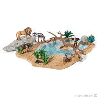 Schleich Watering Hole Toy