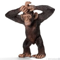 Schleich Young Chimpanzee Toy