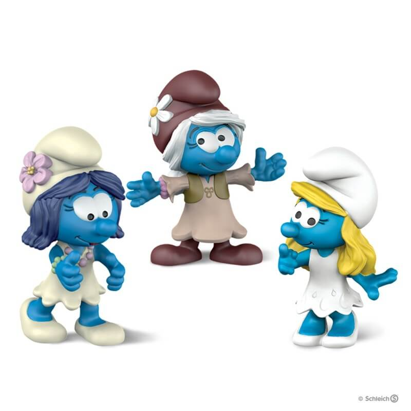 Smurf Movie Set 2