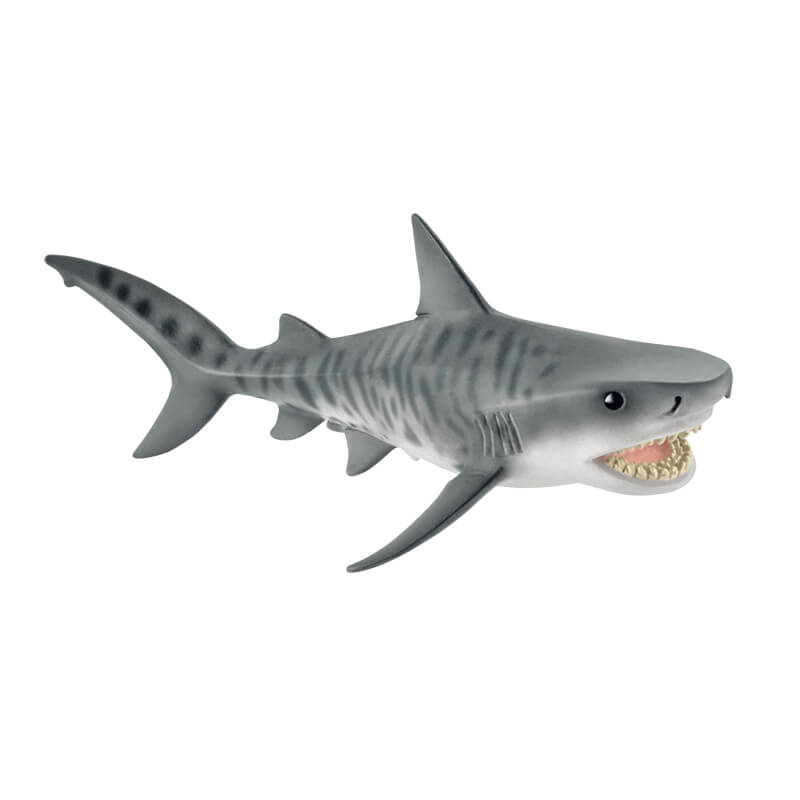 Schleich tiger shark 2016 14765 wild life sea life toy for Goliath tiger fish for sale